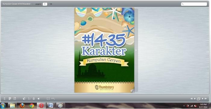 Cover Kumpulan Cerpen #1435Karakter