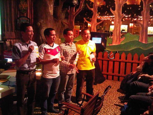 Pemenang Socmed Challenge. (Sumber: @indosatlombok)