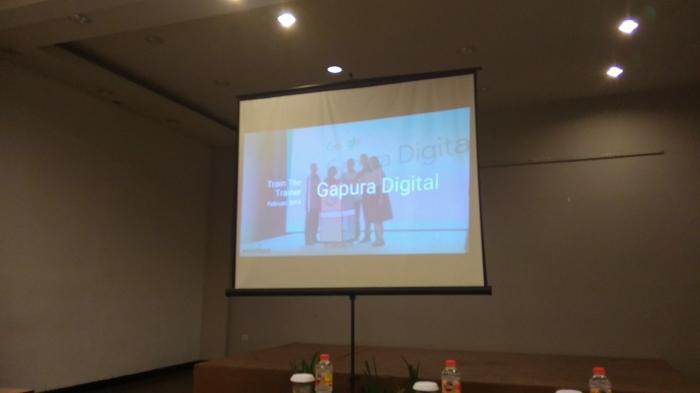 Keseruan Train the Trainer Google Gapura Digital diLombok
